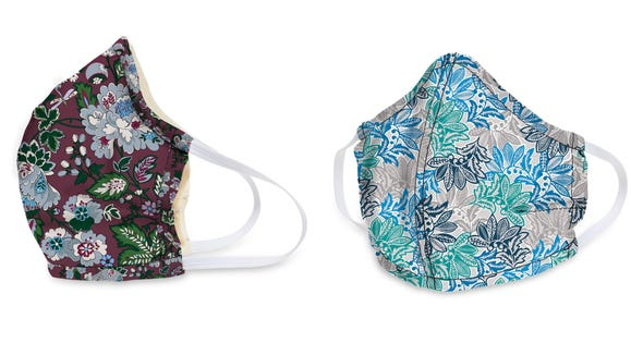 Your favorite bag patterns in a mask.