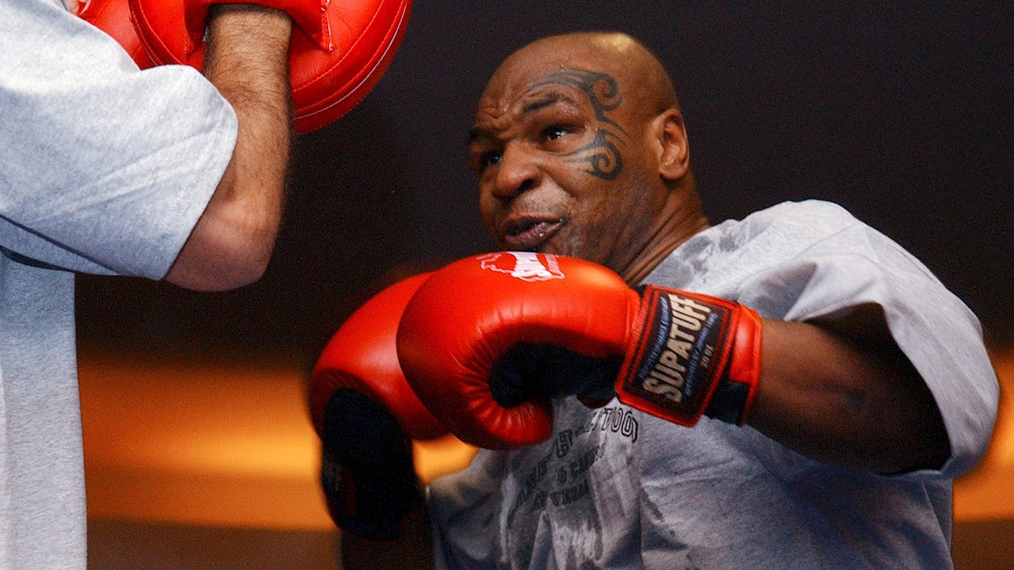 Mike Tyson returning to boxing with eight-round exhibition vs. Roy Jones Jr. Sept. 12