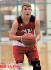 Baird senior Aaron Halliburton
