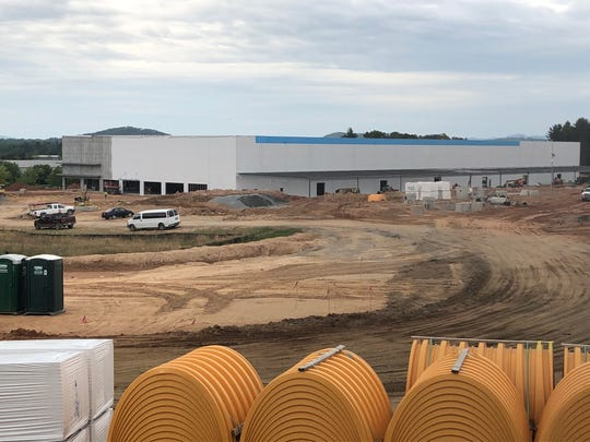 Amazon is bringing a distribution center to Mills River. It is expected to employ 200 people.