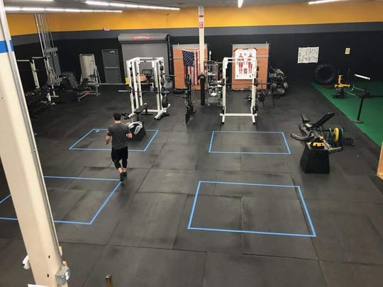 Synergy Athletics' Endwell location prepped to reopen.