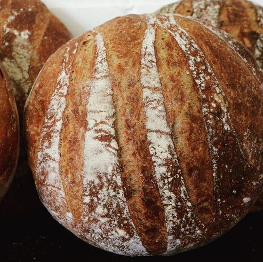 "A bread recipe from Ken Forkish's ""Flour, Water, Salt, Yeast."""
