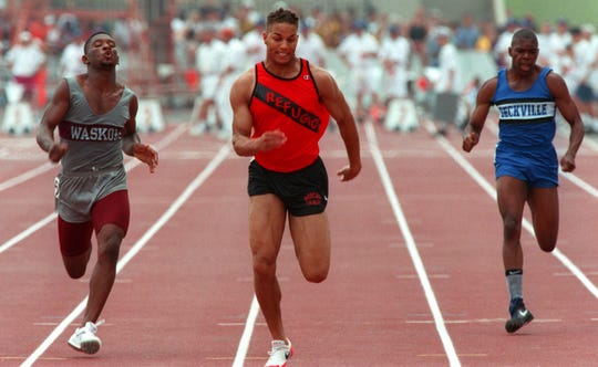 On this day in 1995, Refugio's Toya Jones capped his illustrious high school track career with his 17th medal at the UIL State Track & Field Championships