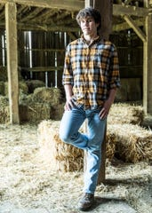 As a senior at Southeastern High School, Ben Corcoran worked full time at Kroger and his family farm, participated in several clubs, played soccer, and showed animals at the Ross County Fair as a 4-H member.