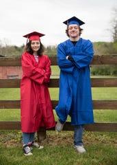 Patty Shanton will be graduating with her nephew Gabe Shanton this year.