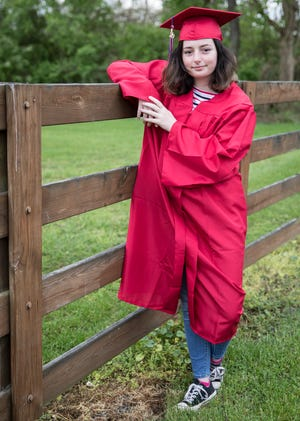 Senior Patty Shanton has triumphantly succeeded as a graduating Zane Trace senior despite the recent loss of her mother in February and the loss of her father 2018 and plans to attend Ohio University Chillicothe.