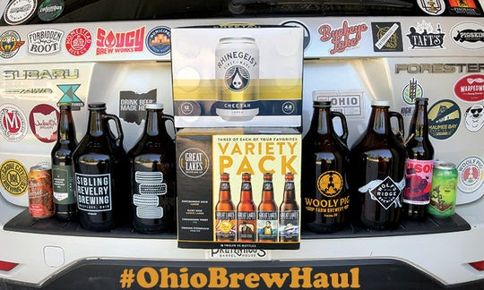 The Ohio Brew Haul will be May 14-17.