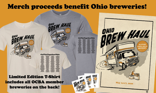 The Ohio Brew Haul will be May 14-17 with proceeds benefiting Ohio breweries.
