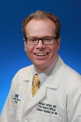 Dr. Rudolph Valentini, a pediatric nephrologist who also is the Detroit Medical Center's Group Chief Medical Officer.