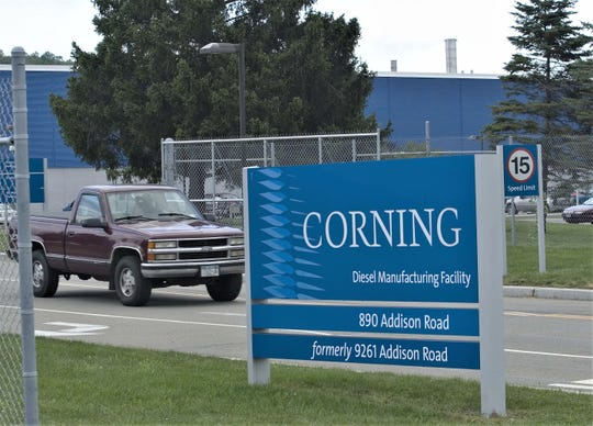 FILE PHOTO The Corning Diesel Manufacturing Plant is on Addison Road in Erwin.