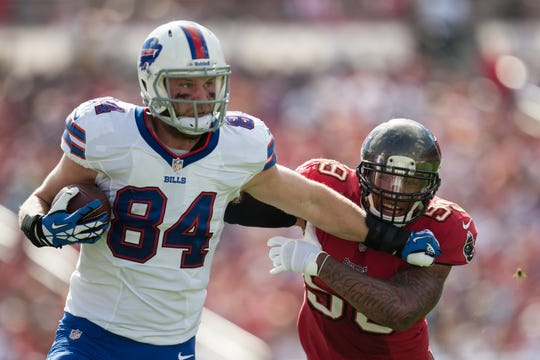 Scott Chandler, who began his Iowa career as a wide receiver, had 205 catches and 21 touchdowns during the course of his NFL career as a tight end.