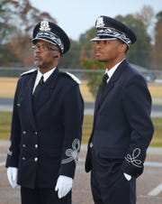Dowell Taylor (left) and Roderick Little