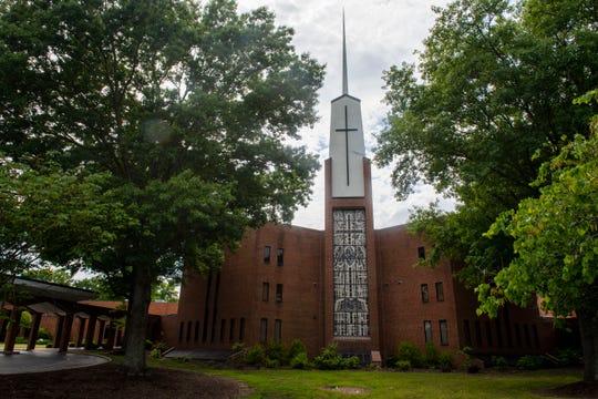First Baptist Church in Jackson, Tenn., Wednesday May 13, 2020.