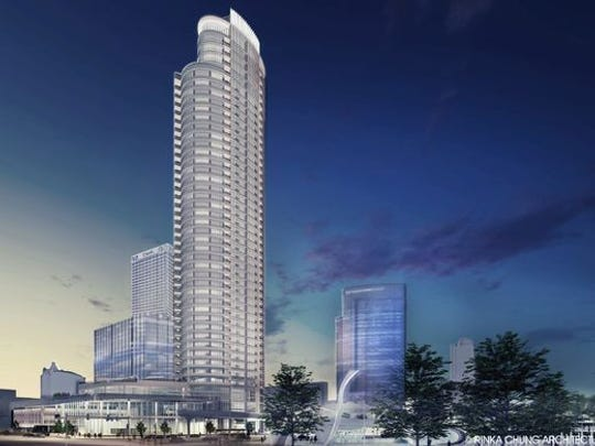 The delayed Couture high-rise project has secured investor financing.