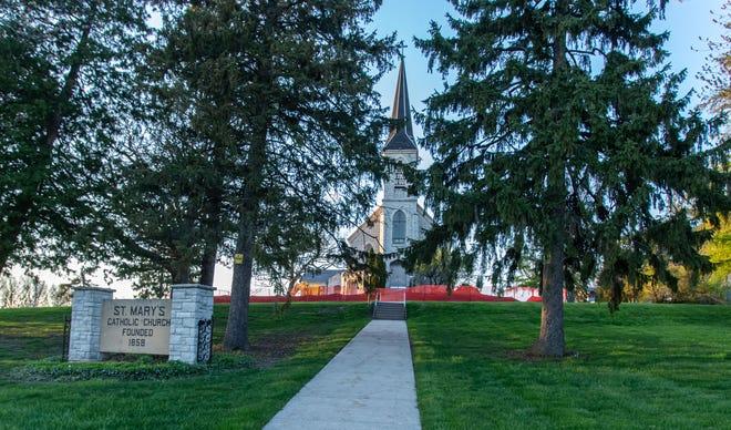 Cornerstone Development was chosen to develop the land around St. Mary's Church in Pewaukee.