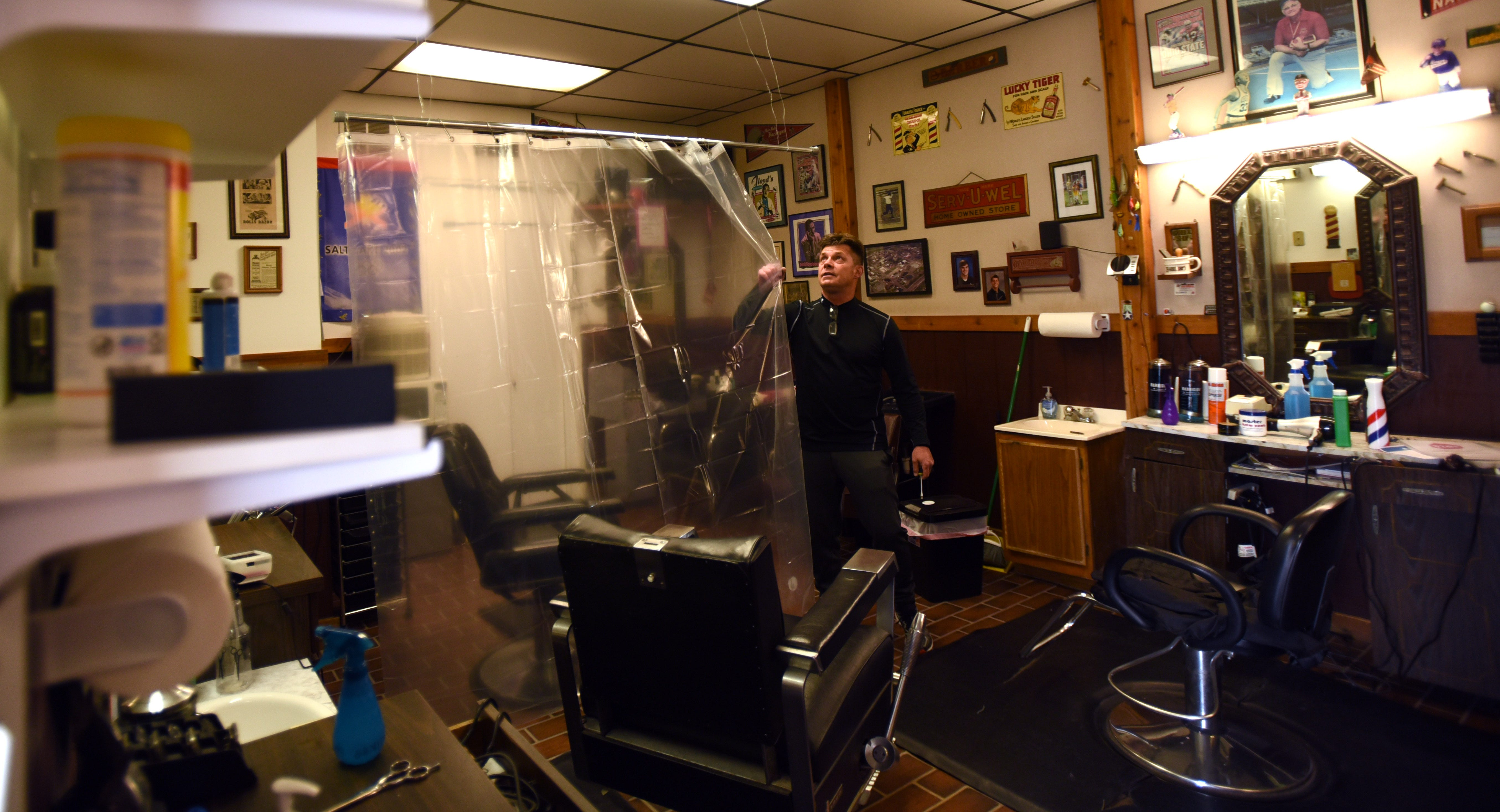Coronavirus Local Barber Helps Set Rules For Re Opening Shops Salons