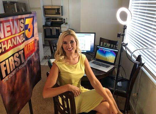 First Alert Chief Meteorologist Haley Clawson provides her forecast live from her home.