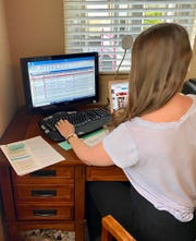 News Channel 3 Senior Producer Sarah-Jayne Arthur uses technology to craft newscasts and special broadcasts remotely.