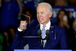 Presumptive Democratic presidential nomineeJoe Biden