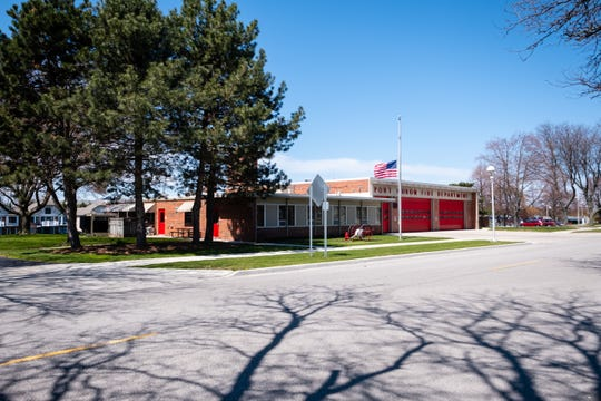 Port Huron's central fire station is shown on Wednesday, May 13, 2020. The city is still waiting on a study to help decide the future of its fire facilities, including the riverfront central station.