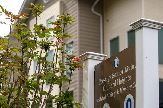 A COVID-19 outbreak at Prestige Senior Living Orchard Heights is the third-highest at an assisted care facility in Oregon, according to the Oregon Health Authority.