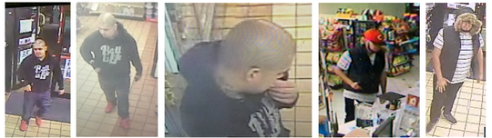 The San Angelo Police Department is searching for two men who robbed two convenient stores on May 13, 2020.
