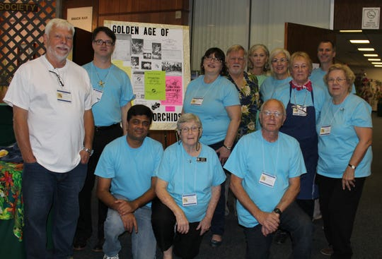 Tallahassee Orchid Society members at their 50th Annual Orchid Show in 2016, what an achievement.