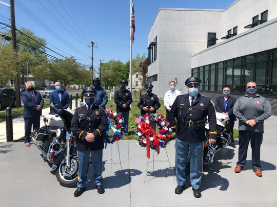 Due to the COVID-19 pandemic, the Vineland Police Department scaled back its observance of National Police Week and for the first time in nearly 40 years, they could not invite the public to participate.