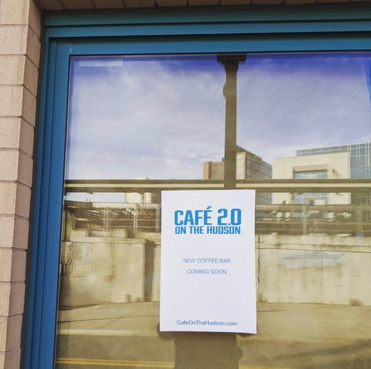 Cafe 2.0 Cafe on the Hudson was supposed to open at 1 Alexander St. in Yonkers on April 15.  Now, the owners have shifted to online sales and delivery.
