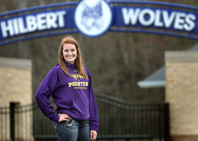 University of Wisconsin-Stevens Point graduate and volleyball All-American April Gehl, a former Hilbert High School standout, says she doesn't regret her tweet that sparked a social media firestorm but admits she learned valuable lessons from the controversy.