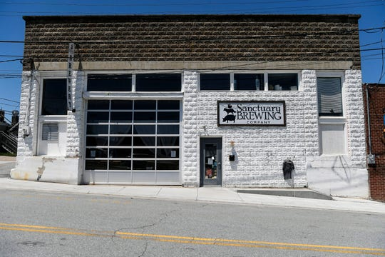 Sanctuary Brewing in Hendersonville May 7, 2020.