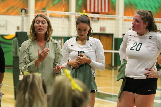 Shauna Hurles has coached the Tiffin Dragons volleyball program for three years now.