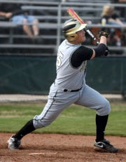 John Paul II's Kyle Mungia had a walk-off two-run single to give the Centurions their second TAPPS Class 4A state baseball championship in 2011.