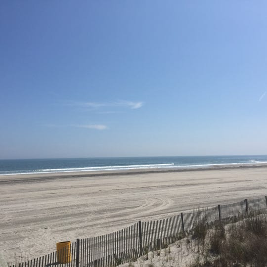 New Jersey beaches, including this sandy scene in Atlantic City, will open in time for Memorial Day weekend, Gov. Phil Murphy said Thursday.