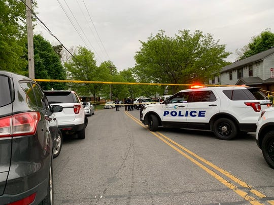District 5 police are investigating a confirmed shooting in the 800 block of Dutch Colony Drive in Winton Hills.