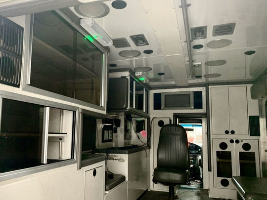 Ultraviolet disinfecting lights made by Grand Haven-based GHSP are in use in emergency vehicles around the country.