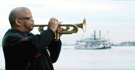 "Terence Blanchard in ""Up From the Streets."""