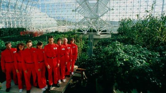 """Inside Biosphere 2 in """"Spaceship Earth."""""""