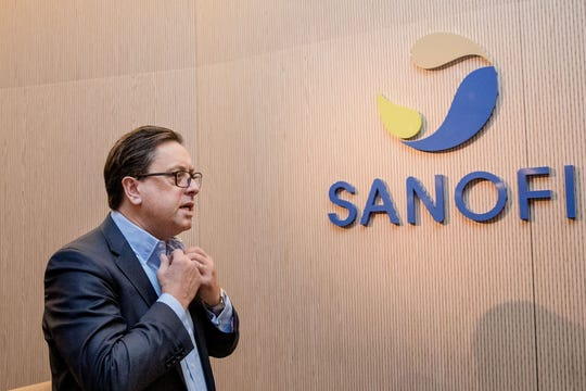 The U.S. will likely be first in line should Sanofi succeed in developing a vaccine because the country was the first to fund the French company's research, CEO Paul Hudson said this week in an interview with Bloomberg News.