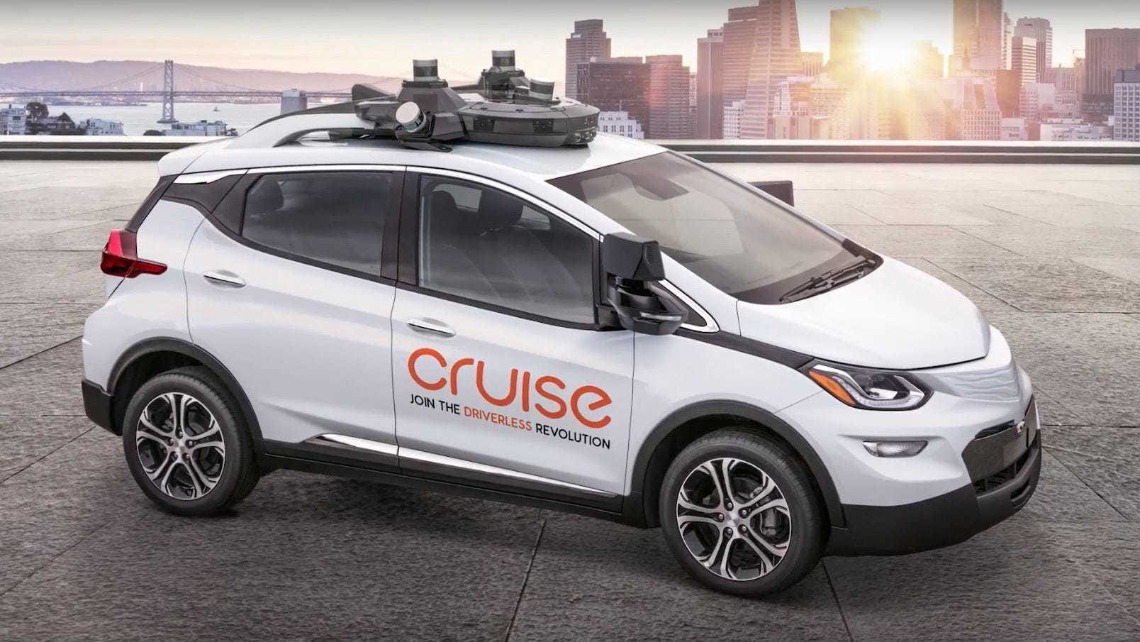GM's Cruise 'making progress' on self-drive technology