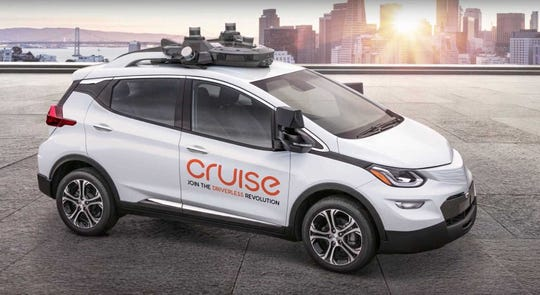"""GM and self-driving subsidiary Cruise LLC have been """"working and steadily making progress on our technology milestones to achieve driving that is safer than a human, and we on that path,"""" GM CEO Mary Barra told investors Tuesday."""