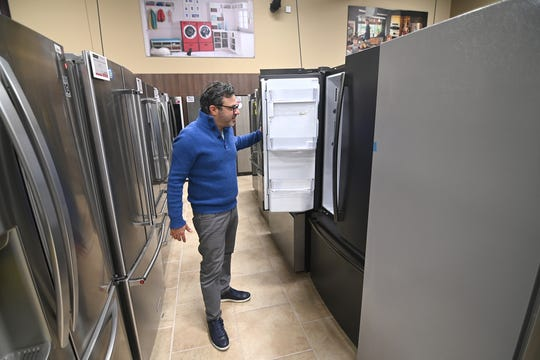 Ramsey Bishar, owner of Witbeck Home Appliance Mart in West Bloomfield, has seen a surge in buying home appliances during the COVID-19 stay-home orders.