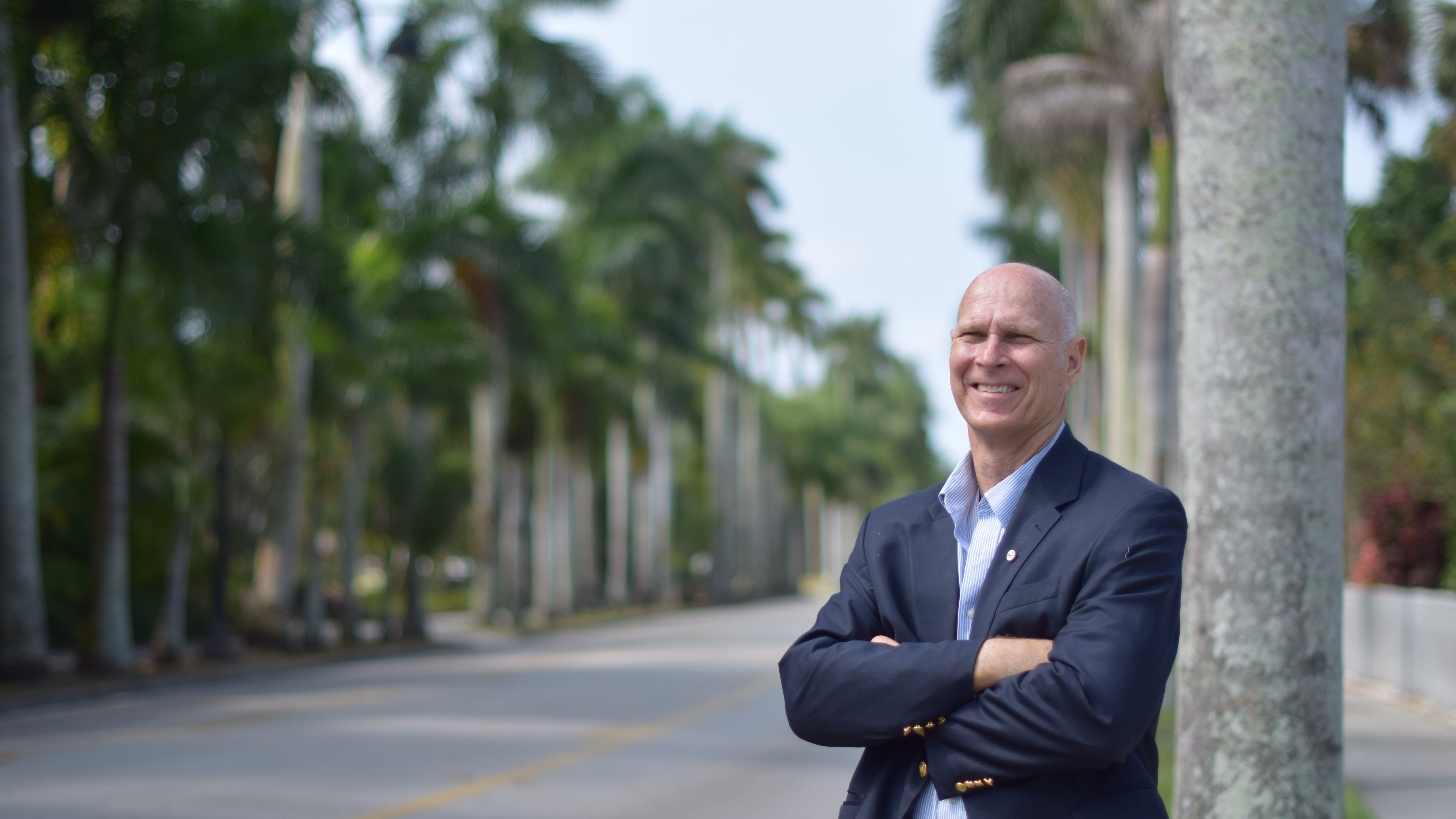 """Liston """"Lin"""" Bochette represents Ward 4 on the Fort Myers City Council."""
