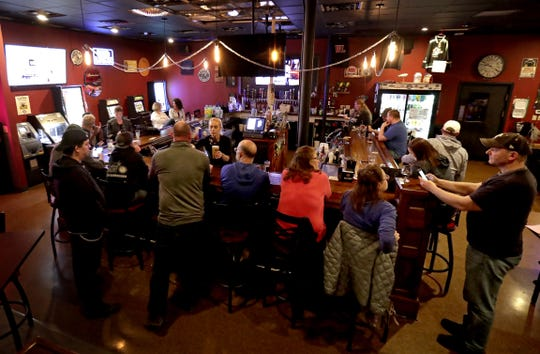 The Dairyland Brew Pub opened to patrons on Wednesday following the Wisconsin Supreme Court's decision to strike down Gov. Tony Evers' safer-at-home order.