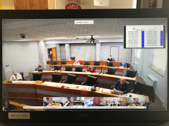 The Door County Board of Supervisors discussed keeping its emergency order in place at a virtual meeting Thursday morning.