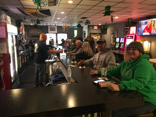 State Street Pub in Green Bay opened by 7 p.m. Wednesday, May 13, 2020, after the state Supreme Court overturned Gov. Tony Evers' safer-at-home order.