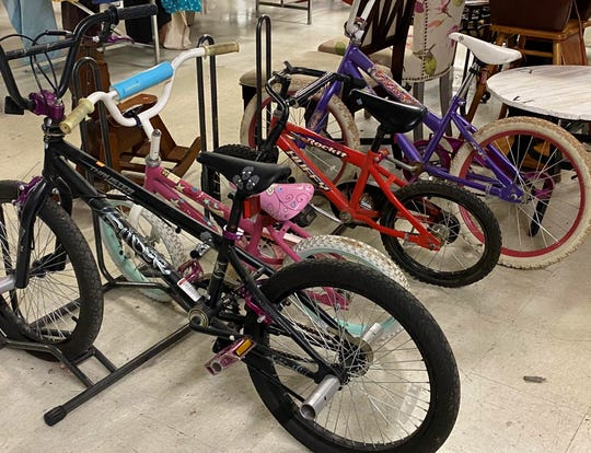 A nice selection of kid's bikes was for sale at the Farragut Goodwill on May 13.