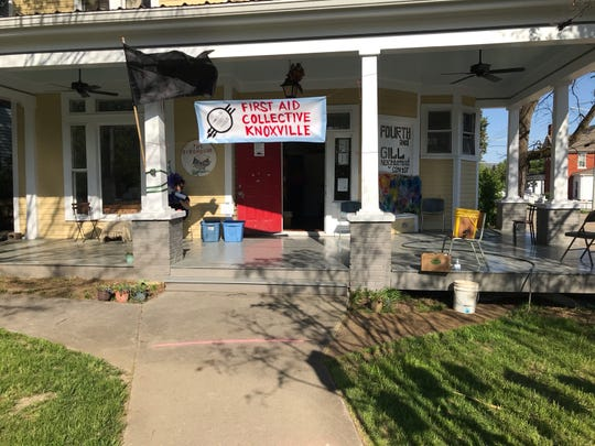 The Birdhouse Community Center in the Fourth & Gill neighborhood currently houses First Aid Collective Knox. May 2020.