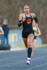 Brighton junior Brooke Gray has been Livingston County's top sprinter the last two years.