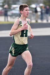 Noah Weslock would have been the leader of Howell's distance group in 2020.